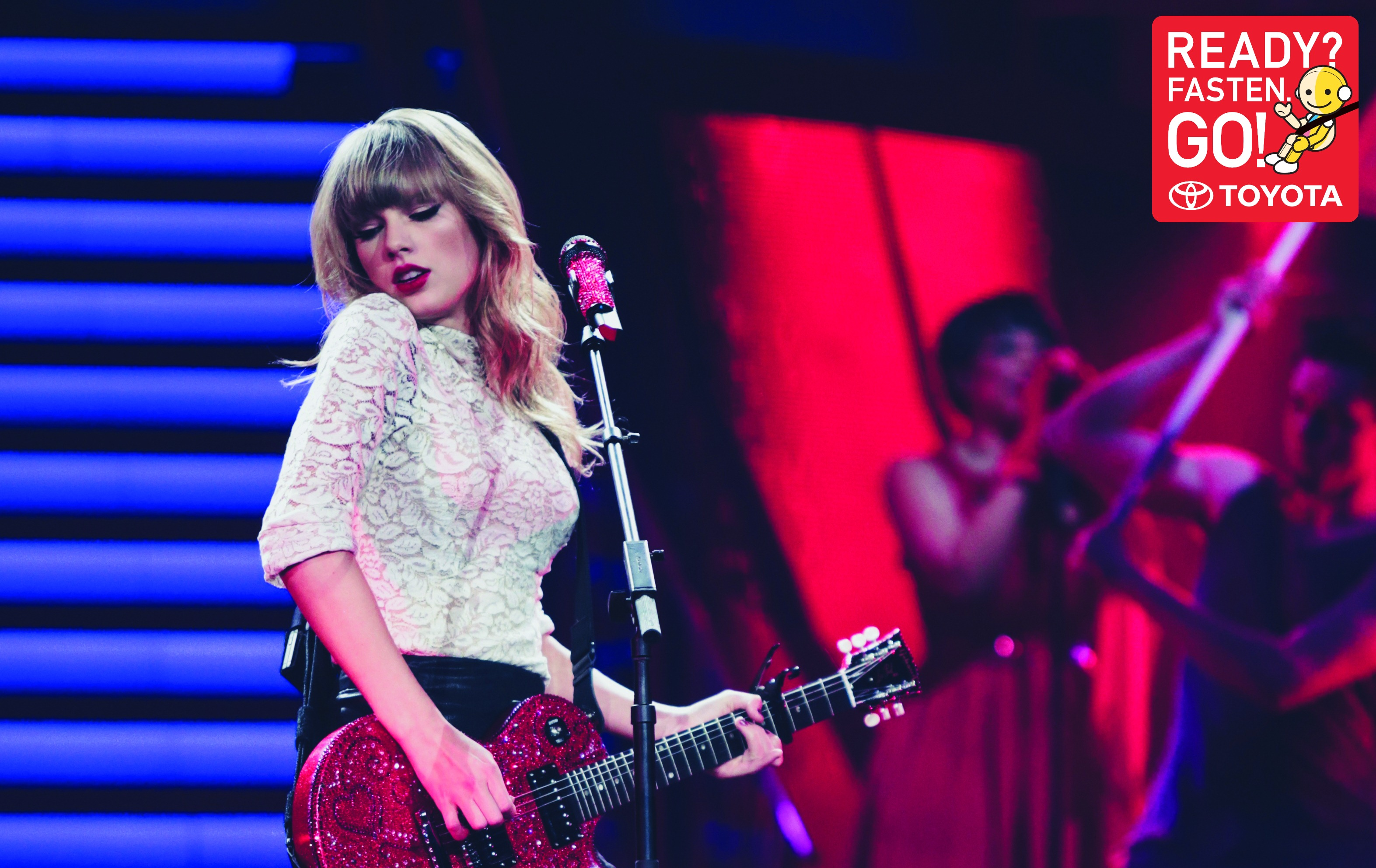 toyota teams up with taylor swift for first asean road