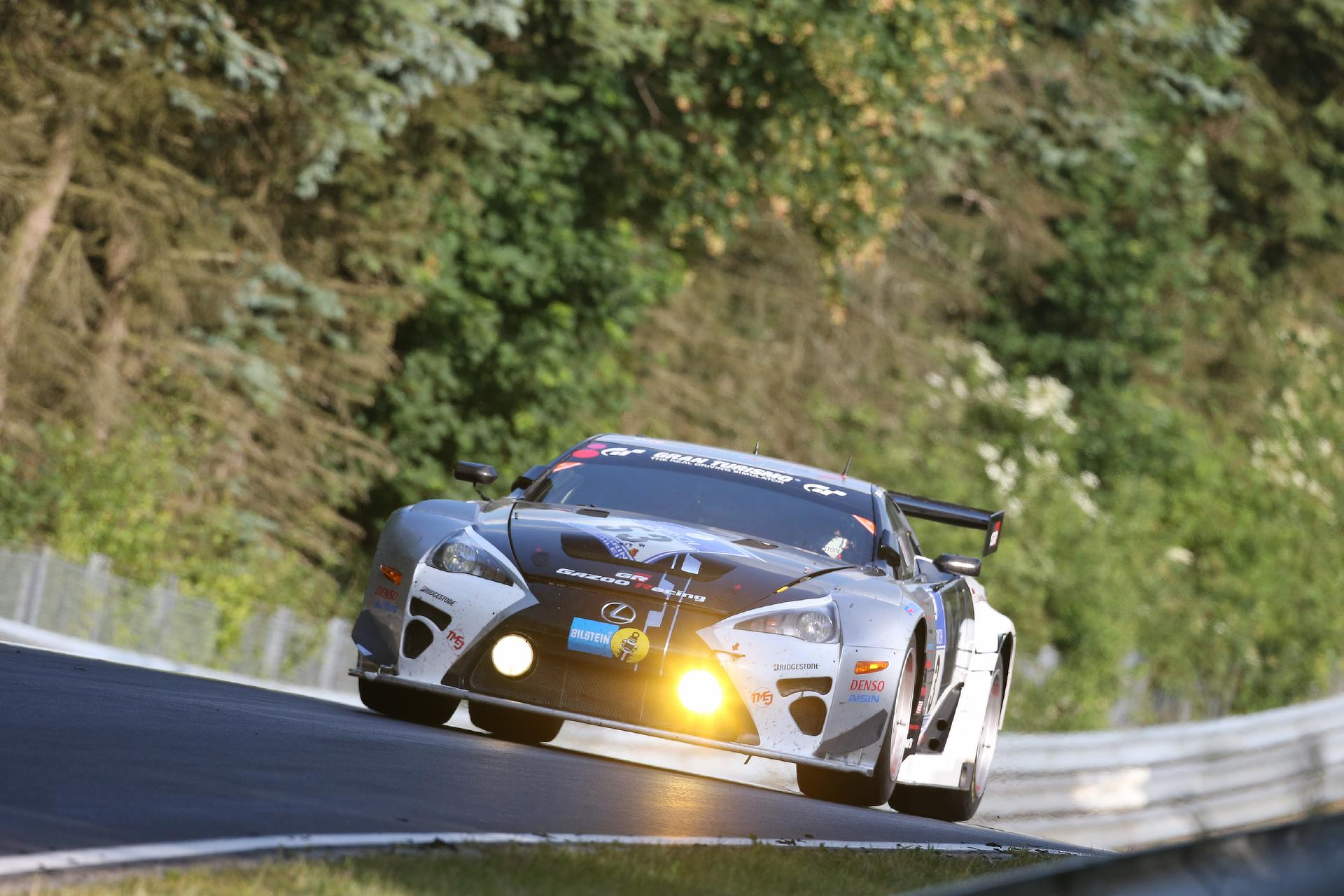 Toyota and Lexus Top of the Class at Nürburgring | TOYOTA