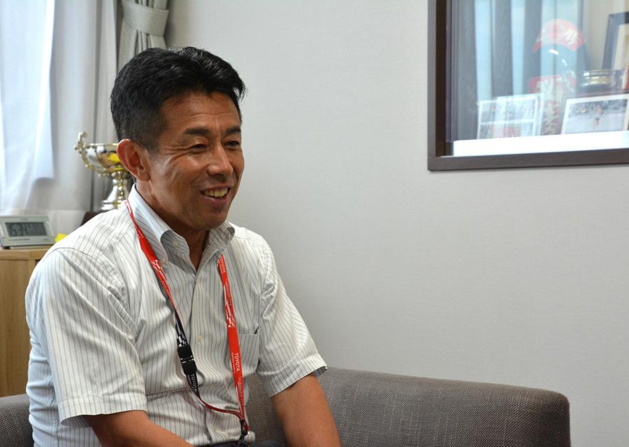 佐藤監督(田原工場工務部)