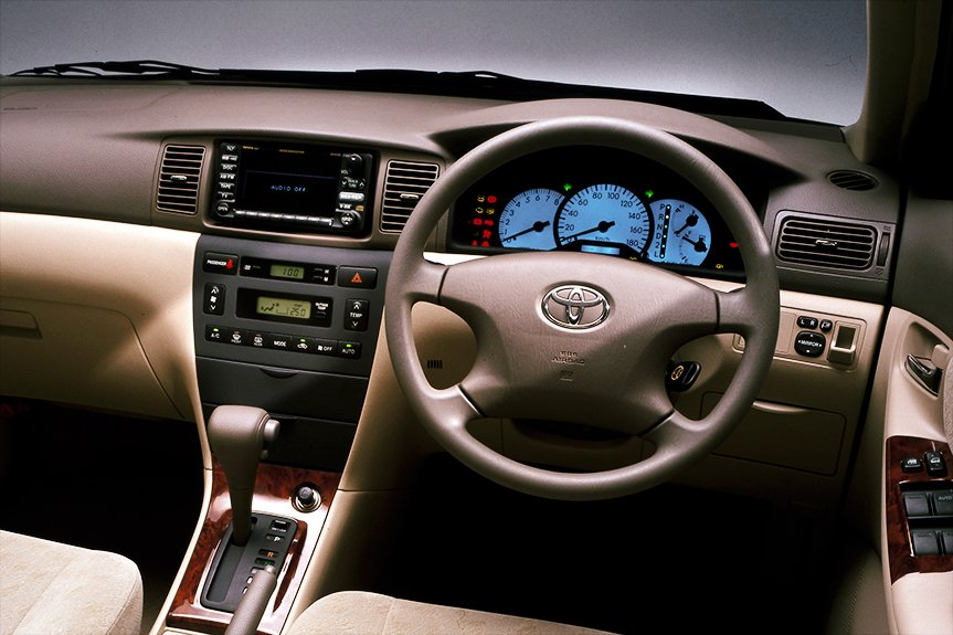 A luxurious optitron meter that was installed in the top-class Corolla model at the time was the Luxel.