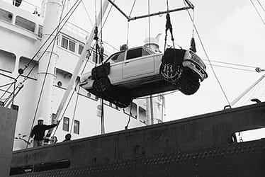 The Corolla exported to overseas countries for the first time in 1966