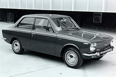 USA - The 1st Generation Corolla (1969 - 1970)