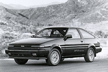 USA - The 5th Generation Corolla (1984 - 1987)