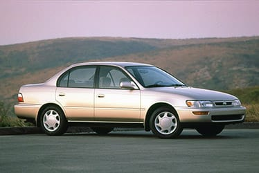 USA - The 7th Generation Corolla (1993 - 1997)