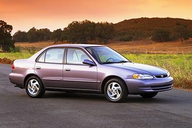 USA - The 8th Generation Corolla (1998 - 2002)