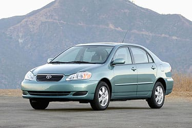 USA - The 9th Generation Corolla (2003 - 2008)