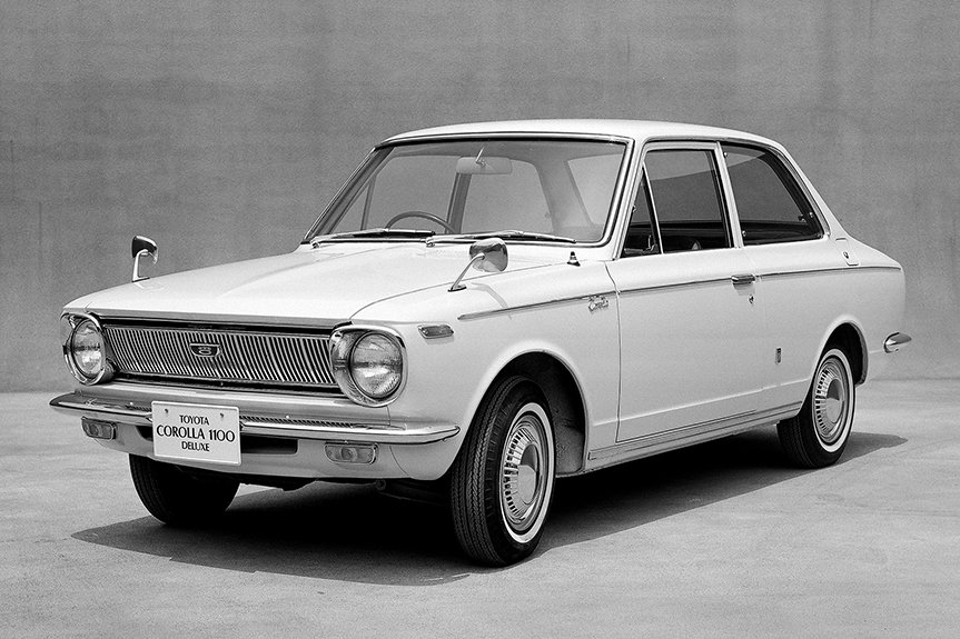 1966: The era of the first-generation Corolla | Toyota Motor ...