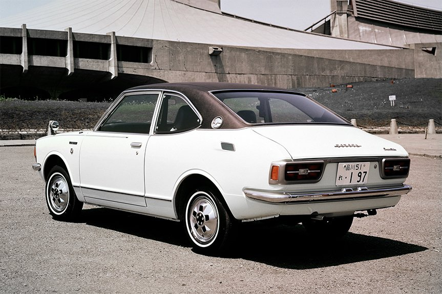 The Second Generation Corolla