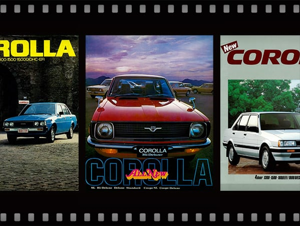 Generations of the Corolla and their Corresponding Eras (1)
