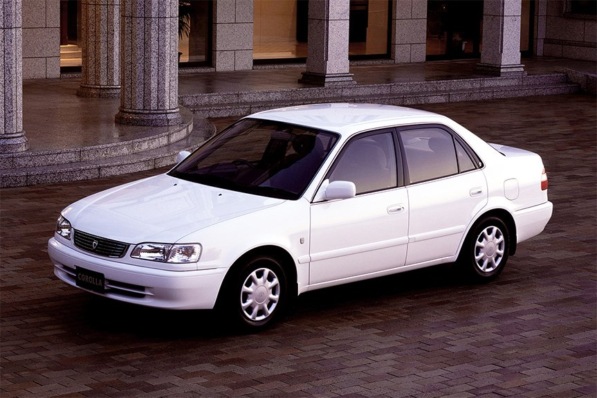 The Eighth Generation Corolla