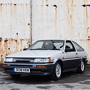 AE86 at Bicester Heritage Sunday Scramble