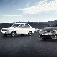 Toyota Corolla: 50 years of the world's best-selling car
