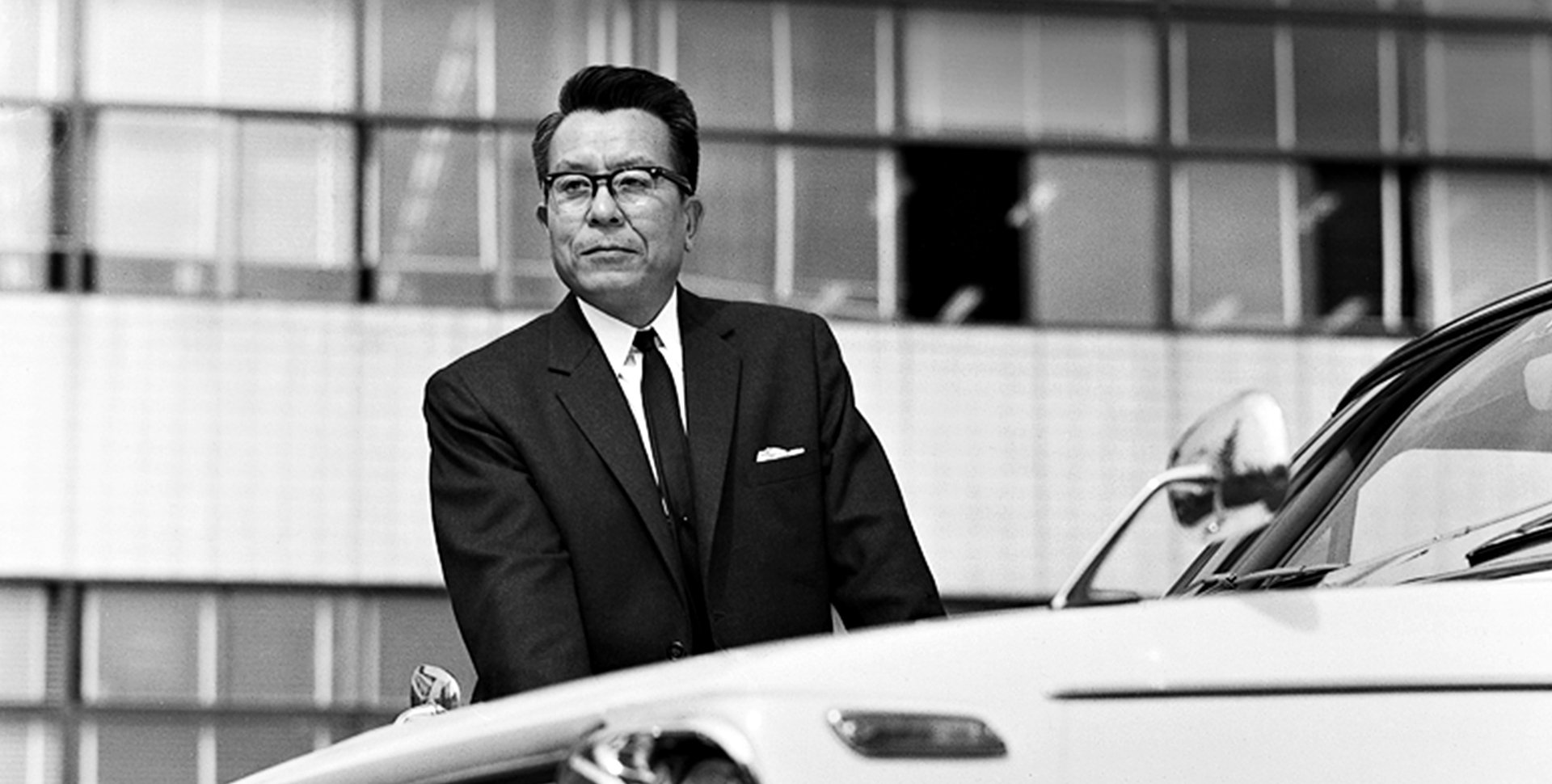 Tatsuo Hasegawa, Chief Engineer for the 1st generation Corolla