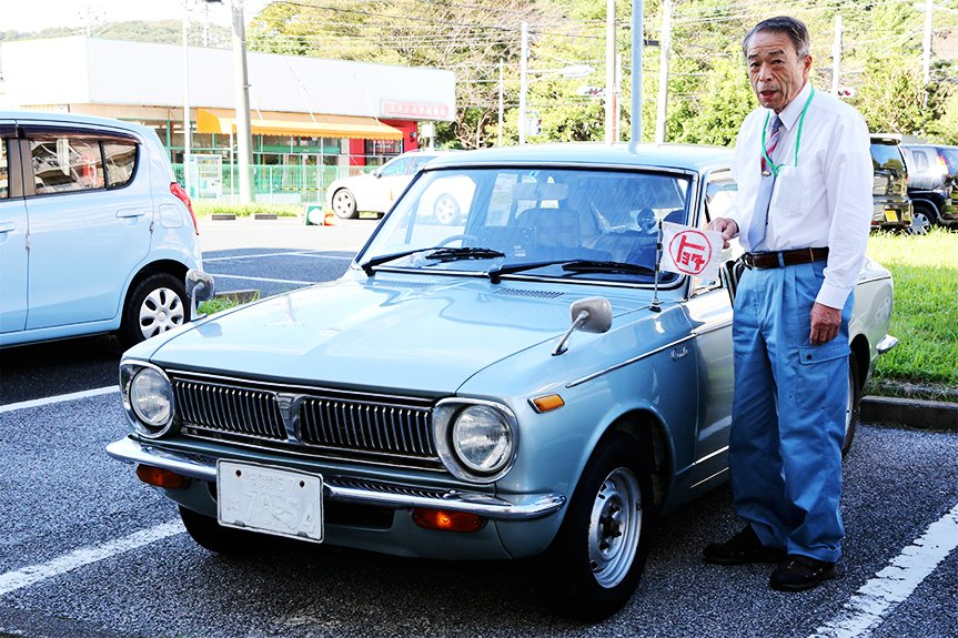 Shougo Asada bought his beloved first generation Corolla in 1969.