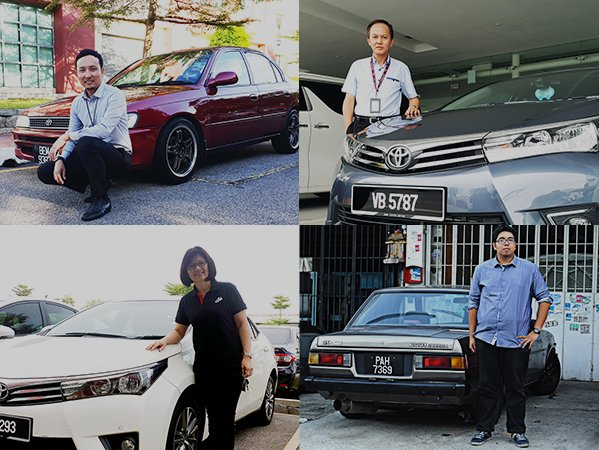 "Corollas Worldwide: ""my Corolla story"" from Malaysia"