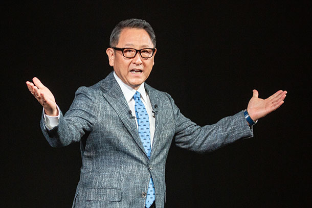 Detail | Message from Akio Toyoda, President | Company | Toyota