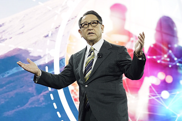 "Reforming Our Company to Become a ""Mobility Company"": Akio Toyoda"