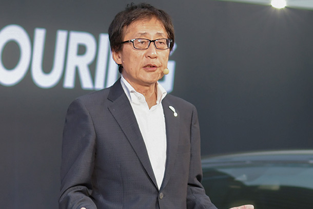 Toyota's Endless Pursuit of Creating Ever-better Cars in the 'Real World': Moritaka Yoshida