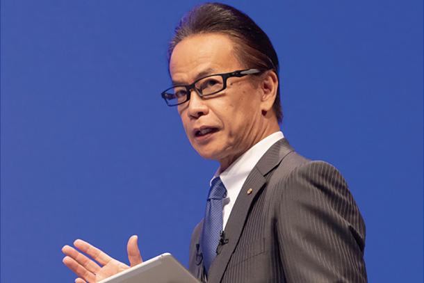 Shigeki Tomoyama, Executive Vice President