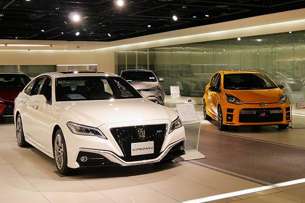 ミッドランドスクエア(名古屋)トヨタ自動車ショールーム