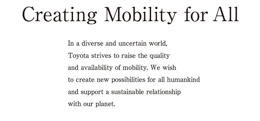 Creating Mobility for All