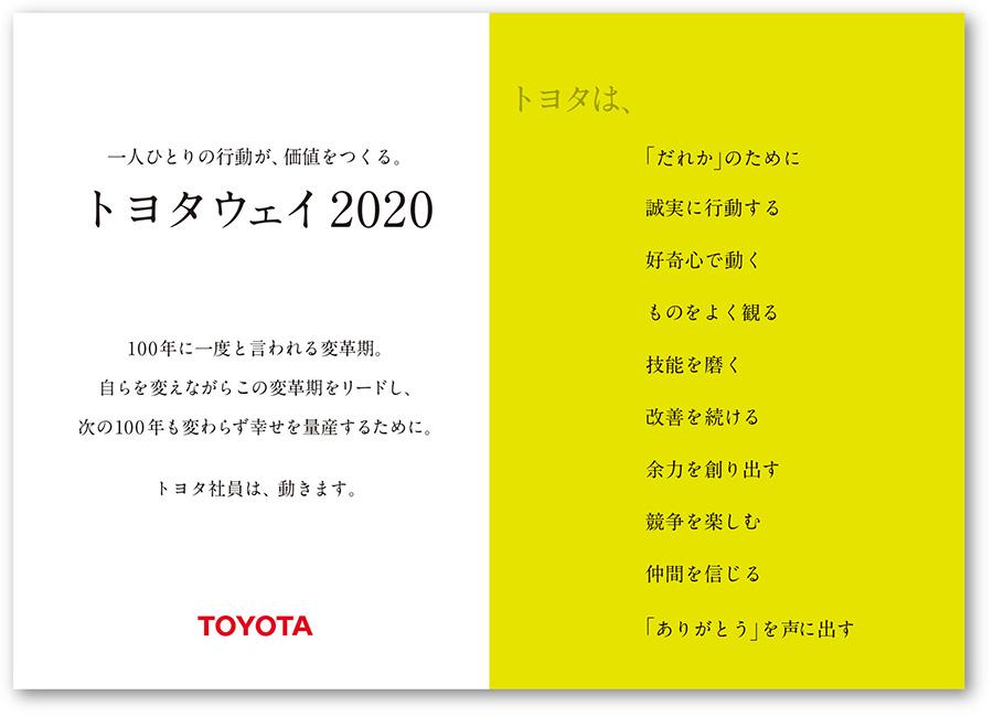トヨタウェイ2020