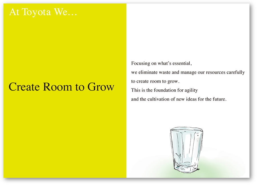 At Toyota We Create Room to Grow