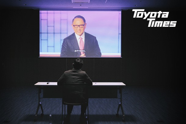 Editor-in-Chief Kagawa gains access to top secret video of Akio talking about Toyota's Future