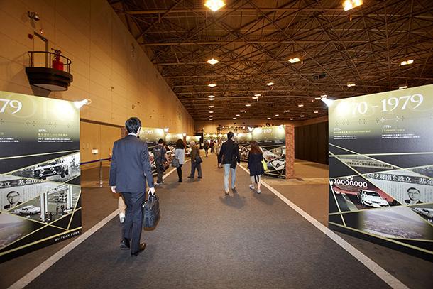 展示エリア : 歴史や取り組みに触れる