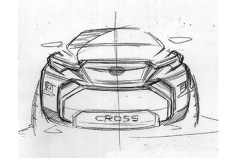 COROLLA CROSS Idea Sketch