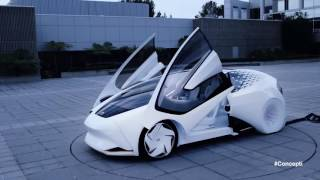 Toyota Concept-i, the future of mobility incorporating AI
