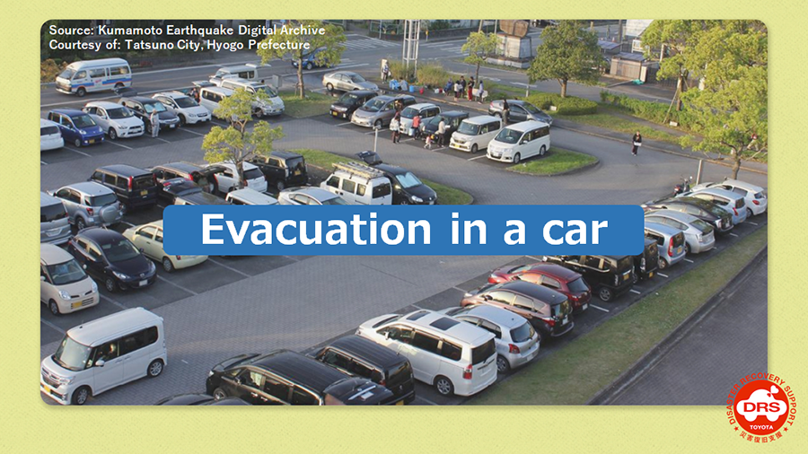 Initiatives for Toyota Disaster Recovery Support (TDRS)