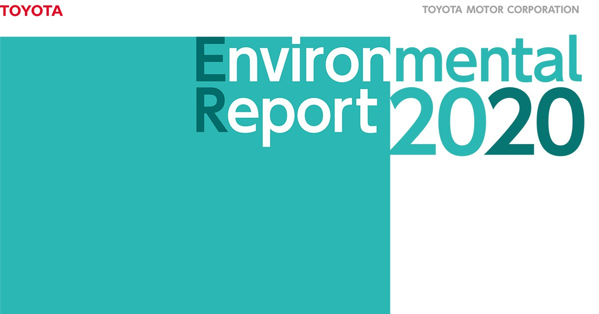 Environmental Report 2020 has been published.