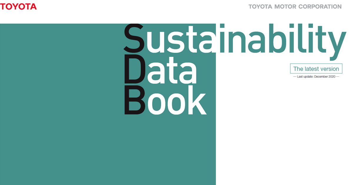 Sustainability Data Book has been updated