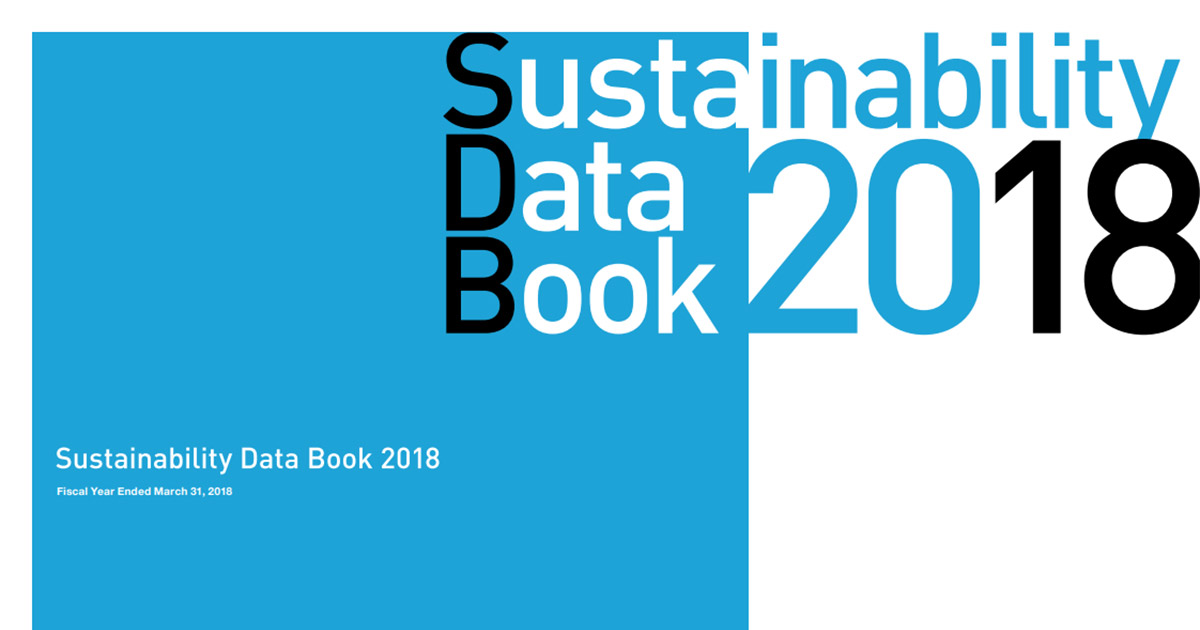 Sustainability Data Book | Report Library | Sustainability