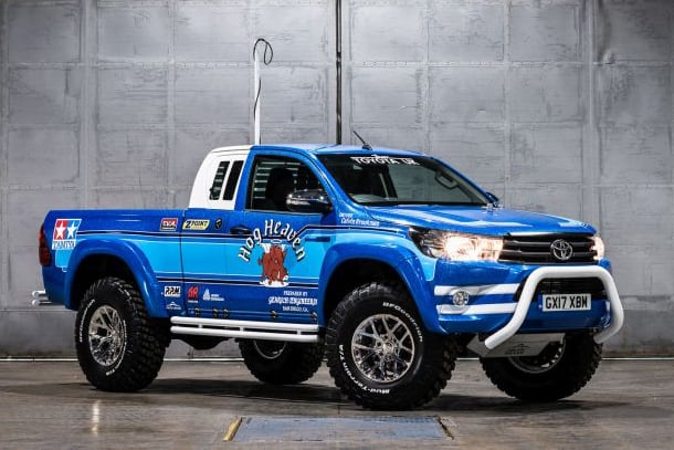 Toyota Hilux Bruiser: our full-size replica of the Tamiya legend