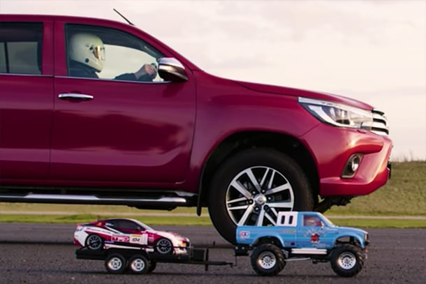 Hilux Little and Large: Tow