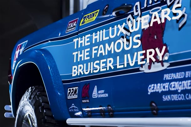 Meet the Toyota Hilux Bruiser