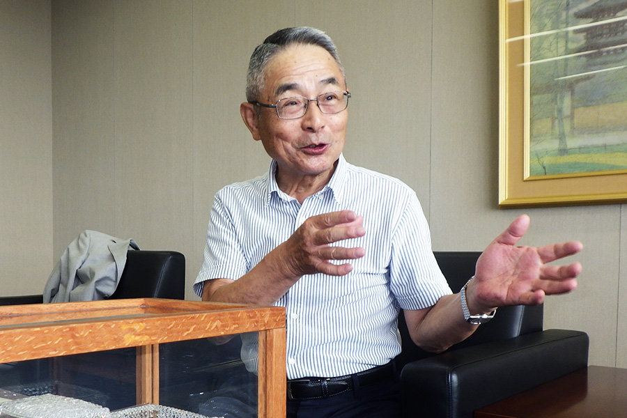 Shigeo Asai, Chief Engineer for the 5th generation Hilux