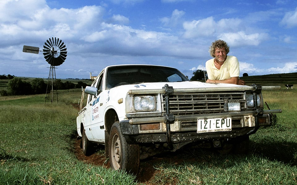 Windmill Man's Hilux Tops 650,000km