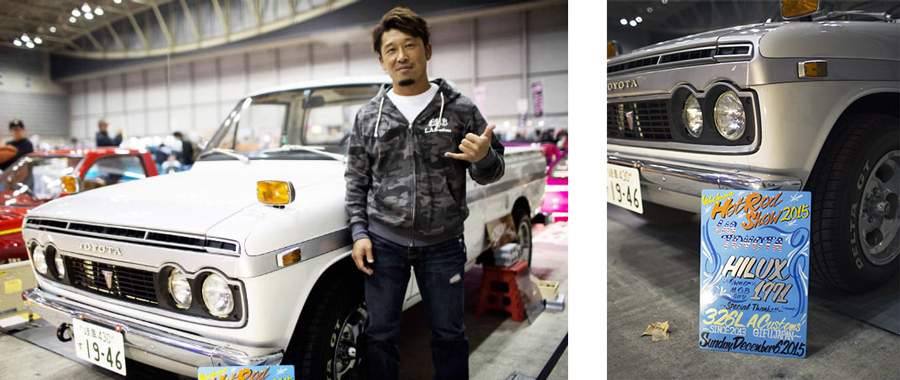 Hilux goes high-end bespoke at Mooneyes Japan show