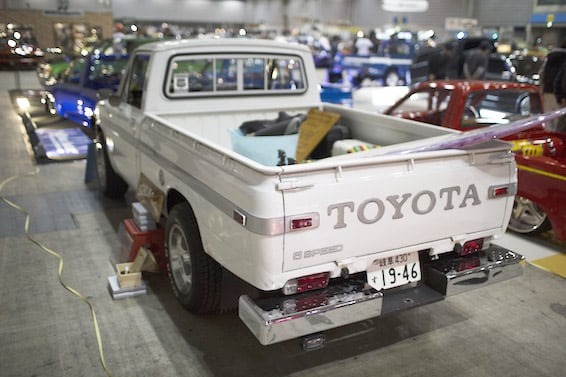 Hilux goes high-end bespoke at Mooneyes Japan show