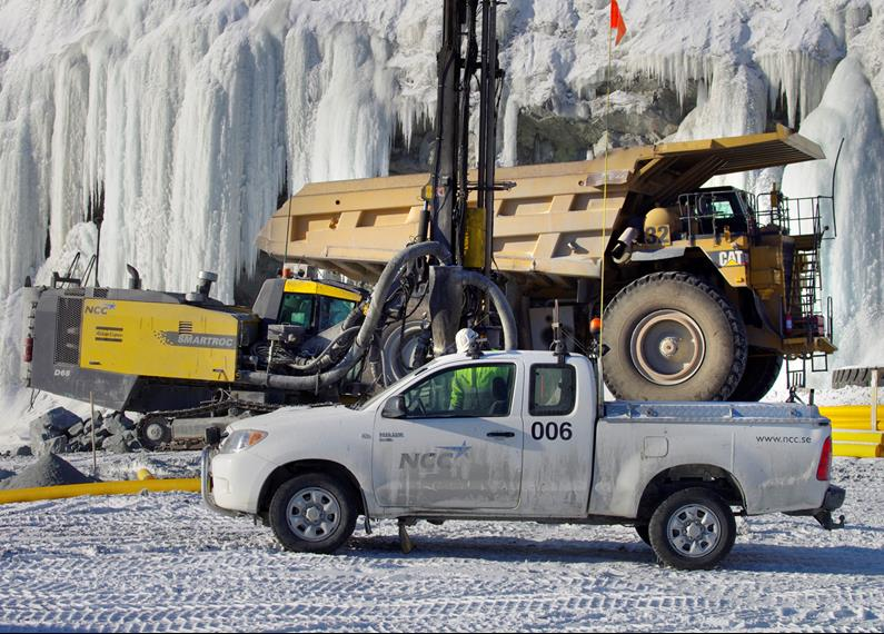 Hilux Sweden Mine