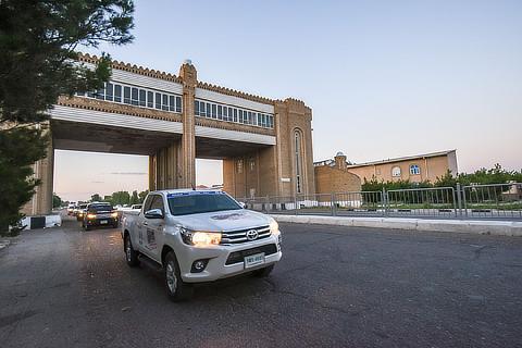 2nd Section: Dunhuang, China―Tashkent, Uzbekistan