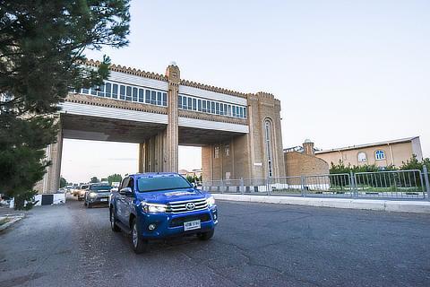 第2区間 中国敦煌市-ウズベキスタン・タシュケント