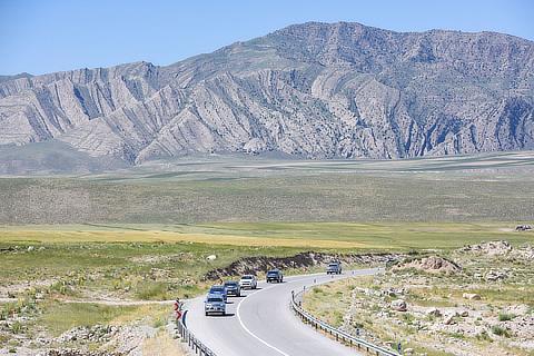 3rd Section: Tashkent, Uzbekistan―Tehran, Iran