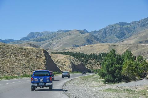 第3区間 ウズベキスタン・タシュケント-イラン・テヘラン