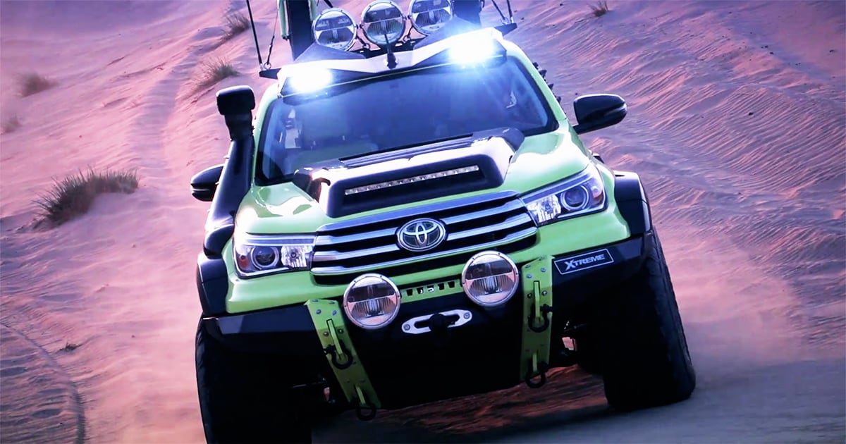 Hilux Xtreme Concept | Hilux 50th Anniversary Special ...