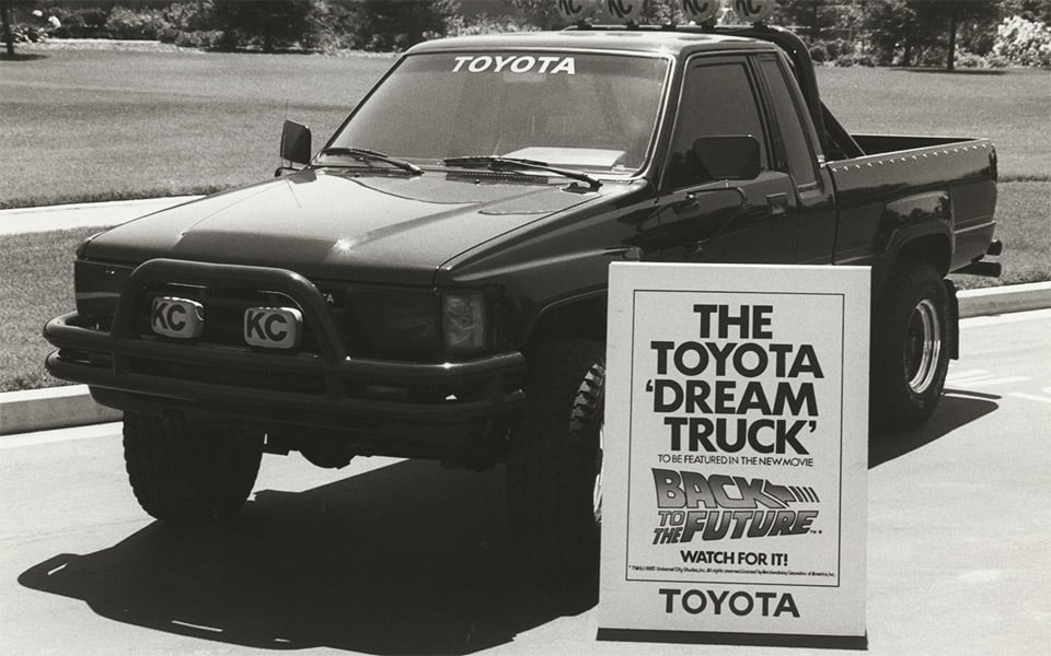 "Goes to Hollywood: Toyota ""Dream Truck"" Featured in Movie Hit"