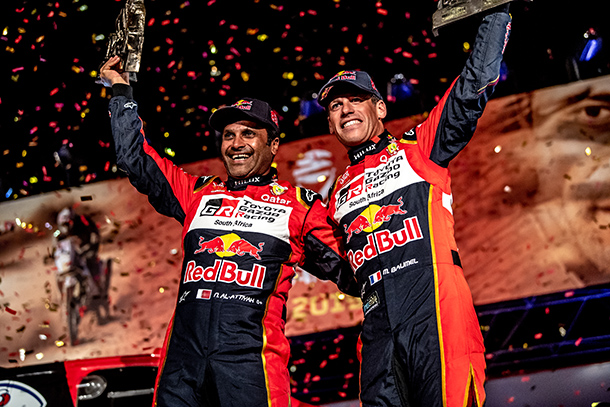 Hilux achieved a historic first overall victory for the Toyota team at the 41st Dakar Rally!